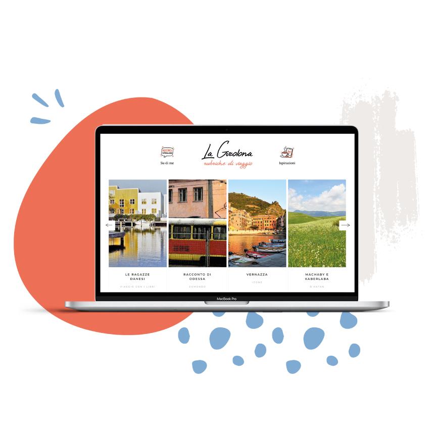 Progettazione grafica per sito web